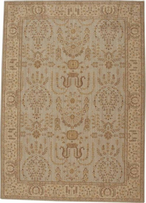 Hard To Find Sizes Grand Parterre Pt02 Quary Rectangle Rug 7' X 10'