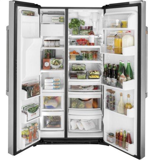 Café 21.9 Cu. Ft. Counter-Depth Side-By-Side Refrigerator
