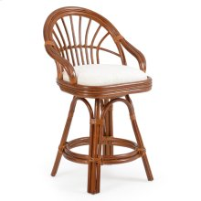 5500 Series Rattan Counter Height Stool Pecan Glaze