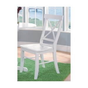 JOHN THOMAS FURNITUREX-Back Chair Pure White