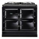 Black  Dual Control 3-Oven Natural Gas