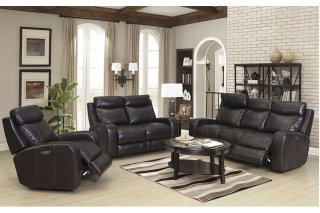 Power Sofa, Loveseat & Chair with Power Headrests