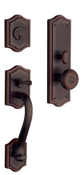 Distressed Venetian Bronze Bristol Entrance Trim