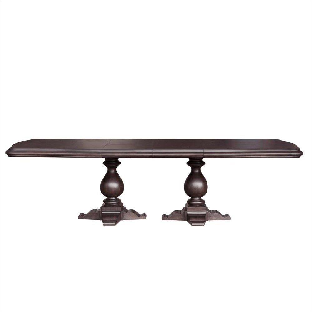 Ravena Double Pedestal Table Base