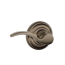 St. Annes Lever with Andover trim Non-turning Lock - Antique Pewter