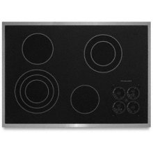 """4 Elements Premium Cooktop Surface with Subtle Watermark Electric 30"""" Width Architect® Series II"""