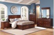 5 Piece Bedroom. Includes: Queen HB, FB & Rails, Dresser & Mirror Product Image