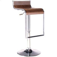 LEM Wood Bar Stool in Walnut