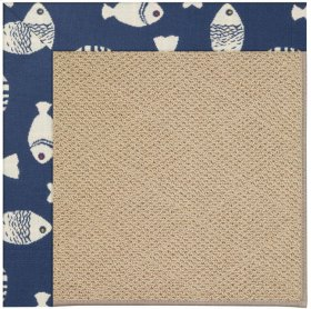 Creative Concepts-Cane Wicker Go Fish Skipper
