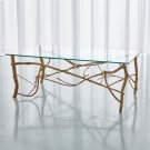 Twig Cocktail Table-Gold Leaf Product Image