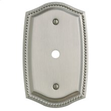 Satin Nickel Rope Cable Cover