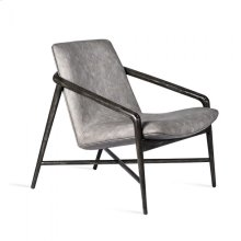 Benoit Lounge Chair - Charcoal
