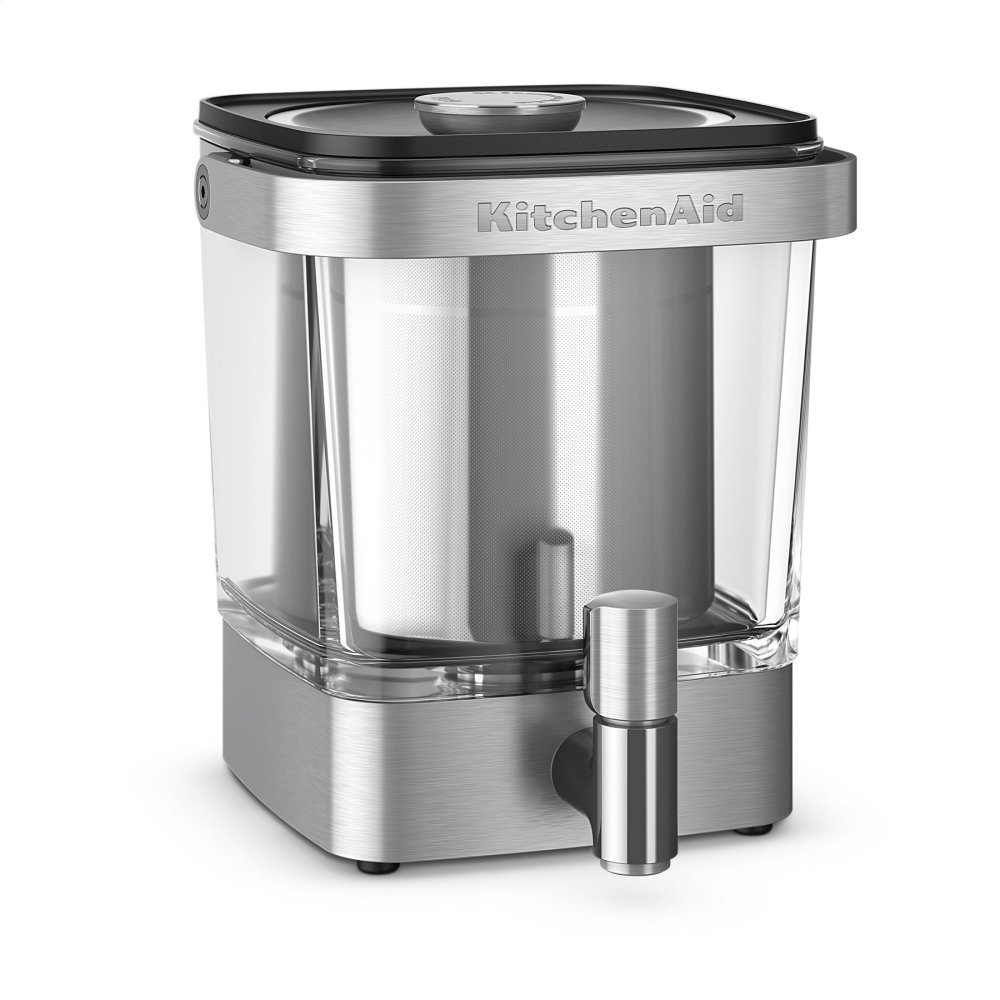 38 oz Cold Brew Coffee Maker - Stainless Steel  STAINLESS STEEL