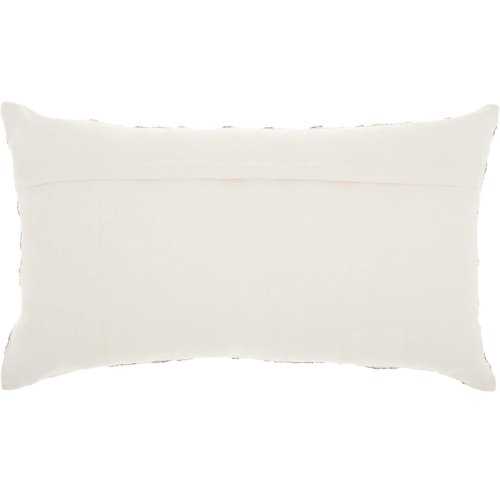"Luminescence E5570 Pewter 12"" X 20"" Throw Pillows"