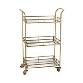Julep Gold Bar Cart
