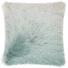 "Shag Tr011 Celadon 20"" X 20"" Throw Pillows"