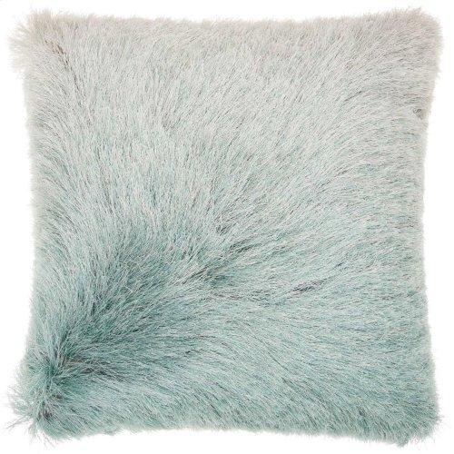 "Shag Tr011 Celadon 20"" X 20"" Throw Pillows"
