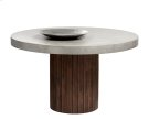 Duomo Round Dining Table - Brown Product Image