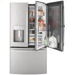 General ElectricGE(R) 27.7 Cu. Ft. Fingerprint Resistant French-Door Refrigerator with Door In Door