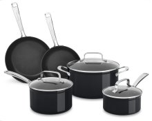 Hard Anodized Non-Stick 8-Piece Set - Black Sapphire