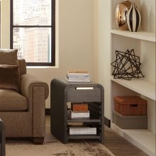 Precision - Chairside Table - Umber Finish