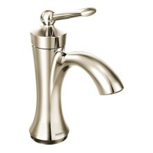 Wynford polished nickel one-handle bathroom faucet
