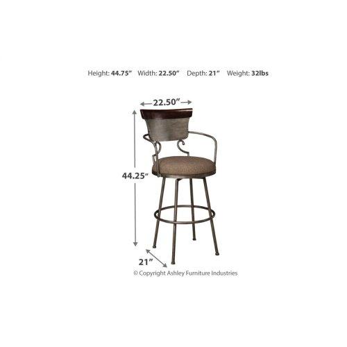 Tall UPH Barstool (1/CN)
