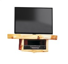 Corner TV Shelf - Natural Cedar