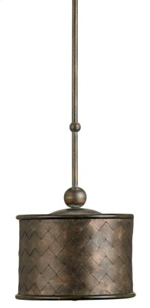 Veneta Pendant - 10.5rd x 9.75h Adjustable from 15.75 to 50h