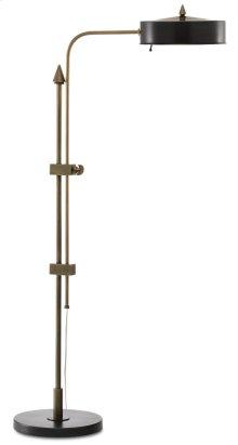 Abram Brass Floor Lamp