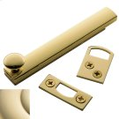 Lifetime Polished Brass General Purpose Surface Bolt Product Image