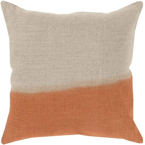 "Dip Dyed DD-012 18"" x 18"" Pillow Shell with Down Insert"