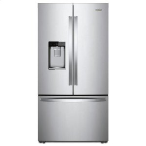 Whirlpool Whirlpool® 36-Inch Wide French Door-Within-Door Refrigerator With Cold Space - 31 Cu. Ft. - Fingerprint Resistant Stainless Steel