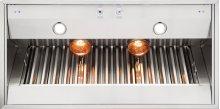 "48"" Wide 18"" High Built-In Custom Ventilator for Wall Hood"