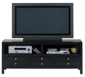 Media Unit W/ 3 Drawers, 2 Openings and Wire Management