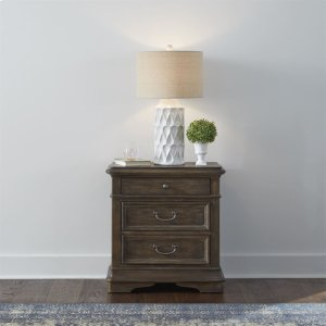 LIBERTY FURNITURE INDUSTRIES3 Drawer Night Stand w/ Charging Station
