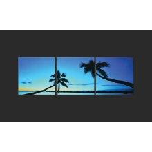 Sunset Palms Artwork