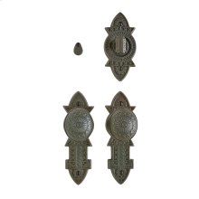 """Briggs Privacy Set - 2 3/8"""" x 7"""" Silicon Bronze Brushed"""