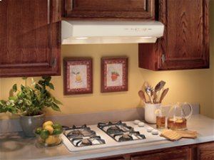 "30"", Bisque-on-Bisque, Under Cabinet Hood, 220 CFM-CLOSEOUT"