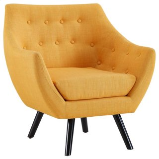 Allegory Armchair in Mustard
