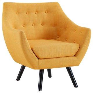 Allegory Armchair in Mustard