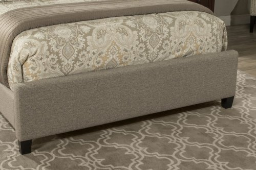 Lila Queen Bed - Natural Herringbone