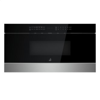 "30"" NOIR Undercounter Microwave Oven with Drawer Design, NOIR"