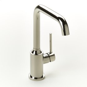 Single-lever Lavatory Faucet River (series 17) Polished Nickel