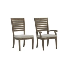 Madera Arm Chair with Fabric Seat