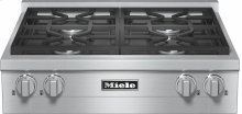 KMR 1124 G RangeTop with 4 burners for professional applications