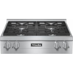 KMR 1124 G RangeTop with 4 burners for professional applications Product Image