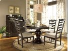 Round Pedestal Table - Tobacco Product Image