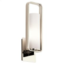 City Loft Collection City Loft 1 Wall Sconce in PN