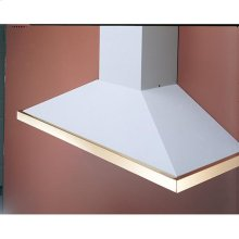 """36"""" x 19"""" Stainless Steel Decorative Trim for K41 and K42 Series Range Hoods"""
